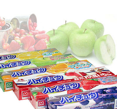 MORINAGA Japanese Hi-Chew Assorted Flavor Chewy Candy (2 Packs)