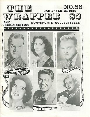 THE WRAPPER No.56  NON-SPORTS CARDS COLLECTIBLES - SPACE CARDS - 1986