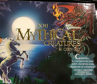 2011 YOUNG COLLECTORS MYTHICAL CREATURES Coin Collection