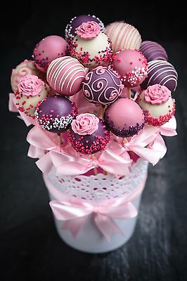 Cake Pops Gift For Valentine's Day, Mother's Day,