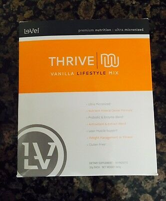 Le-Vel Thrive  30-Day Pack - Vitamins and Shakes- FAST SHIPPING!