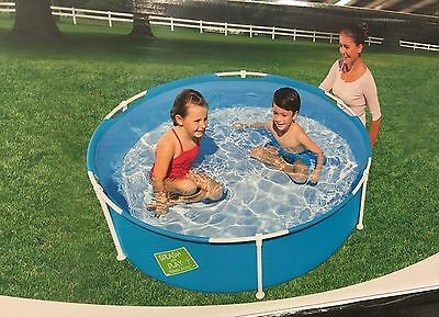 Family Inflatable Swimming Pool Garden Kids Children Play Centre Outdoor Toy