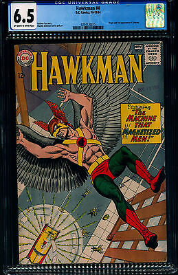 HAWKMAN #4  CGC 6.5 White Pages 1964 1st Appearance of ZATANNA