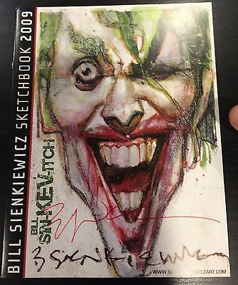 Bill Sienkiewicz 2009 Sdcc Exclusive Sketchbook Rare & Sold Out :-) Signed !!!