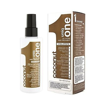 Revlon Coconut All In One Hair Treatment --- Uniq 1 --- 150Ml Free Shipping