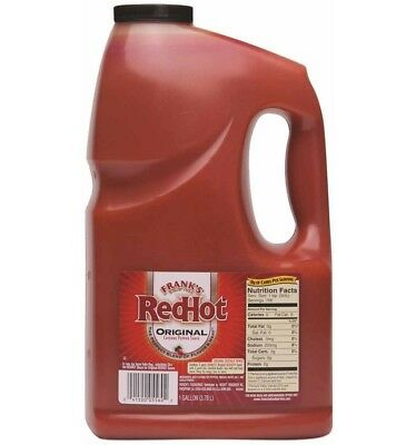 Franks Famous Red Hot Sauce - 1 gallon