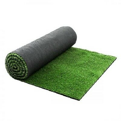 NEW 10 SQM Synthetic Artificial Grass Polypropylene Lawn Flooring 15mm - Olive