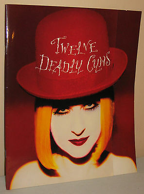 Cyndi Lauper 12 Twelve Deadly Cyns Tour Program 1994/1995 Vintage