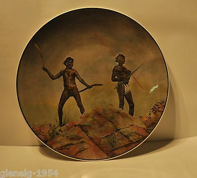 Royal Doulton Aborigines With Hunting Weapons plate # D 6421