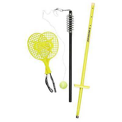 Dunlop Backyard Tennis Adjustable Trainer Totem Tennis Ball Racquet Hook String