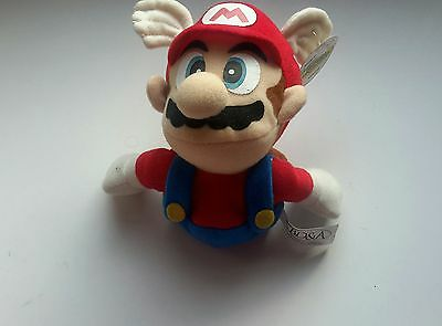Mario 1997 plush figure mint with tag