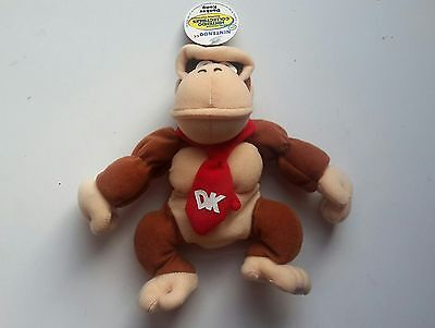 Donkey Kong  1997 plush figure mint with tag