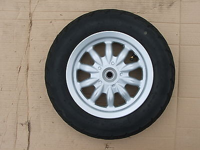 Daelim Besbi 125 Back Wheel + Tire Good Condition