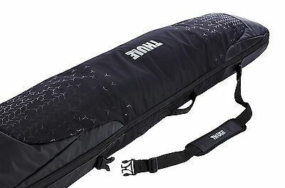 Thule RoundTrip Single Snowboard Carrier Luggage Bag Black