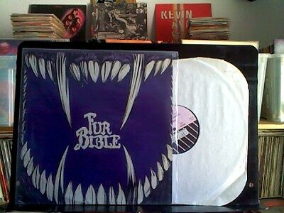 "Fur Bible - Plunder The Tombs / 12"" Vinyl Made In France 1985 New Rose. Vg+/nm"