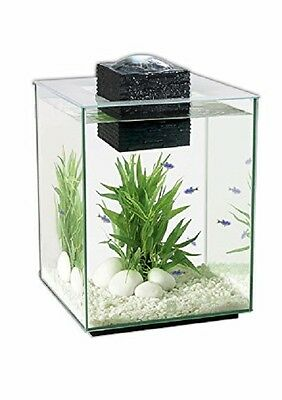 Deluxe Fish Tank Aquarium 19 Ltr 17 powerful LED lights low voltage filtration