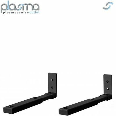 Slim Flat Speaker Stand Wall Mount Bracket Soundbar