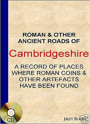 CAMBRIDGESHIRE COIN FINDS + MAPS Metal Detector Roman +