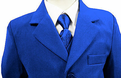 Boys suits Electric Blue Suit, Boys wedding Suit, Page Boy Suits, up to 16 years