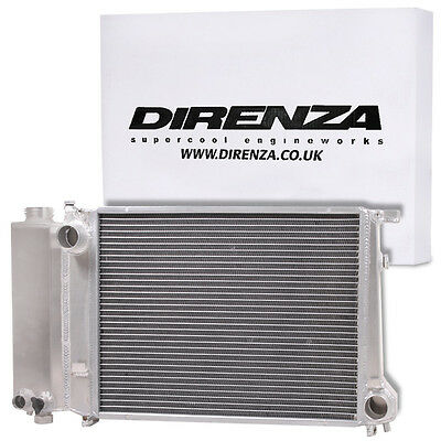 Direnza Twin Core Aluminium Alloy 55Mm Radiator For Bmw 3 5 Series E30 E34 E36