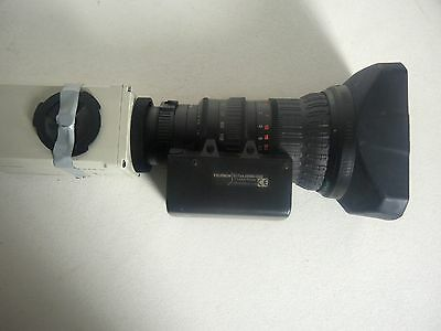 Sony DXC 950 P with Fujinon lens S17X6,6 BMD