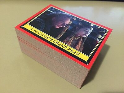 Star Wars Rogue One Mission Briefing - Trading Card LOT of 150 - TOPPS 2016 - NM