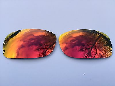 Polarized Deep Red Revo Mirrored Replacement Oakley Fives Squared & 3.0 Lenses