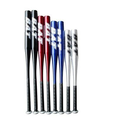 Baseball Stick Thick Defensive Weapon Vehicle-mounted Steel Stick blue 25 inches