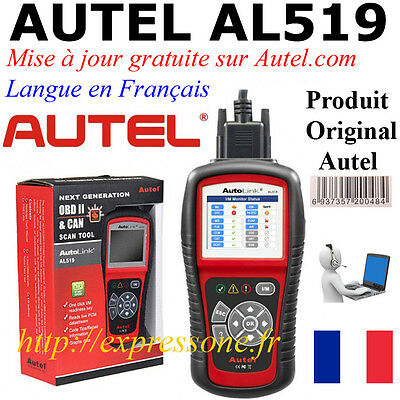 Autel AL519 Valise Diagnostique Multimarque OBD2 Diagnostic Scanner Interface