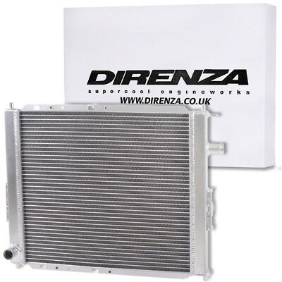 Direnza High Flow Aluminium Alloy Radiator Rad For Rover 25 45 200 400 Mg Zr Zs