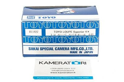 Boxed! New Old Stock Toyo 4x Loupe Superior - in EU!
