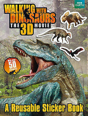 Walking with Dinosaurs: A Reusable Sticker Book by Jane Stevens (Paperback, 2013