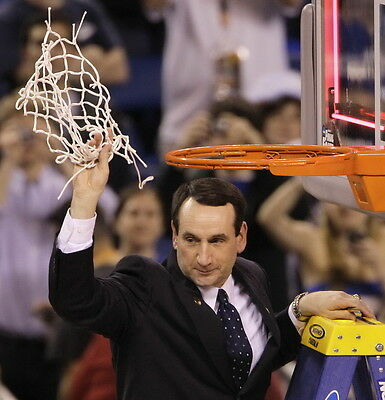 "TY06235 Mike Krzyzewski - Coach K  Basketball 1000 Wins 24""x24"" Poster"