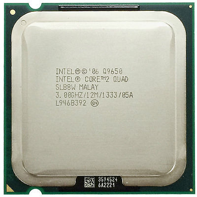 Intel Core 2 Quad Processor Q9650 SLB8W 3.00GHz E0 12M 1333 Quad Core LGA775