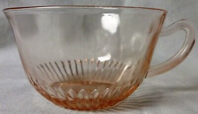 Old Colony Pink Cup Hocking Glass Company