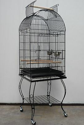 Brand New Large Bird Cage Stand Parrot Aviary Open Roof 158cm – ED902