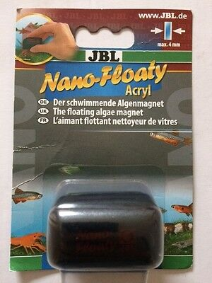JBL Nano Floaty Magnet Cleaner for Glass and Acrylic 4mm. Free Delivery!!