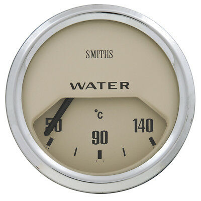 AUXILIARY GAUGE MAGNOLIA HALF FACE WATER TEMP ELECTRICAL 52mm - GAE124M