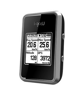 Brand New i-gotU GT-820 Pro GPS Logger Sports Cycling Bike & Travel Computer