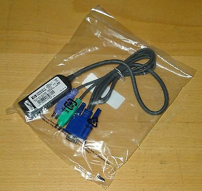 396632-001 HP KVM PS/2 Adapter for CAT 5 Cable New