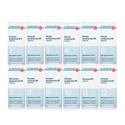 Schuessler Tissue Salts Homeopathic Remedy to Regulate Mineral Balance in Cells