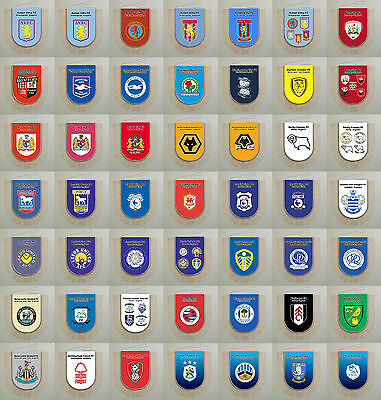 Football Pennants Chapmionship League Wales clubs England United Kingdom 2016