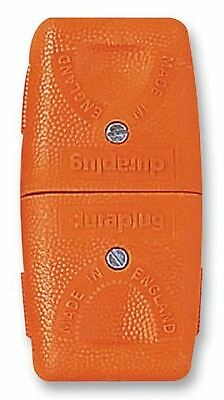 DURAPLUG - Lead Connector 2 Pin Orange