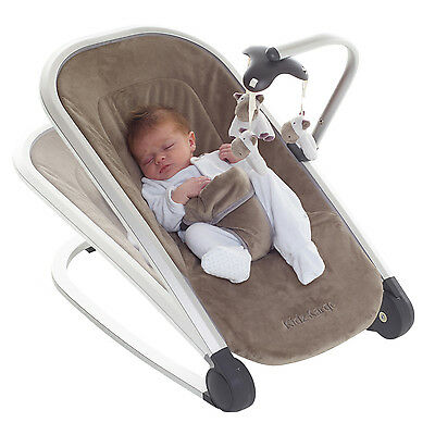 Kids Kargo Baby Bouncer Rocker newborn infant toddler chair lie flat snooze sit