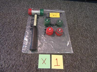 Nupla Mallet Hammer Rubber Head Interchangeable Tool Military Garage Sp-200 Used