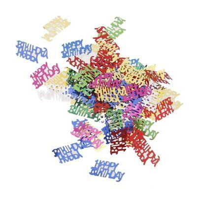 Happy Birthday Letters Party Baby Shower Confetti Sprinkles