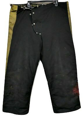 Janesville Firefighter Bunker Turnout Pants Liner 46x30 Prepper Fire Safety PPE