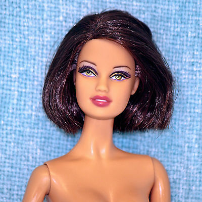 Barbie Basics Collection 001 Model Muse Teresa 11 Brunette Nude Doll OOAK Play