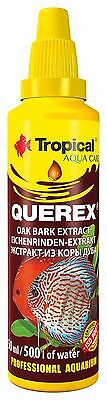 Tropical QUEREX Aquarium DISCUS FISH TANK Black Water, Biotope, Oak Bark Extract