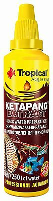 TROPICAL KETAPANG EXTRACT Fish Tank Aquarium Black Water, Shrimps FISH Tank
